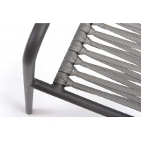 FAUTEUIL CORTINA INOX ANTHRACITE
