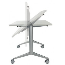 TABLE ABATTANTE PURE EVOLUTION EN 120, 140, 160 OU 180 CM